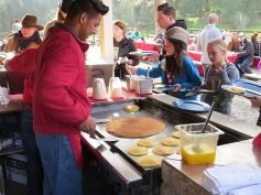 Pancakes at Alisal Guest Ranch