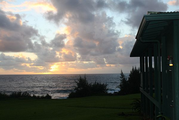 Sunrise at Travaasa Hana