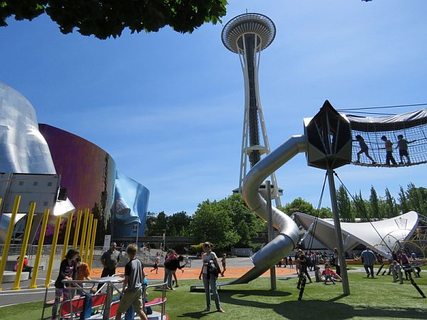 Seattle Center Artists at Play Playground