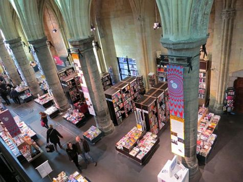 Church turned bookstore in Maastricht