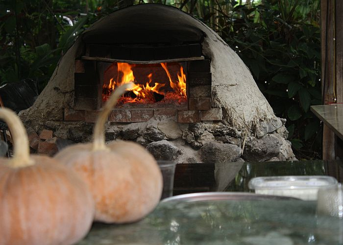 Oven at Clay Oven Pizza