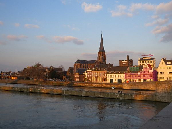 Maastricht view with water