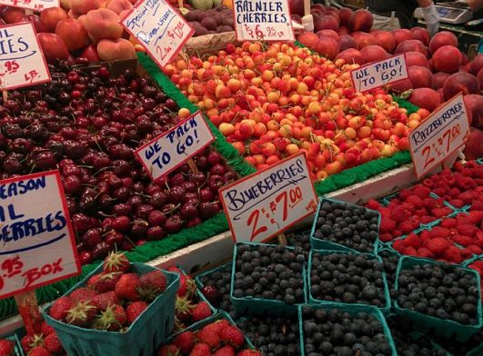 Pike Place Market Fruit