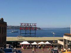 Exterior Pike Place Public Market