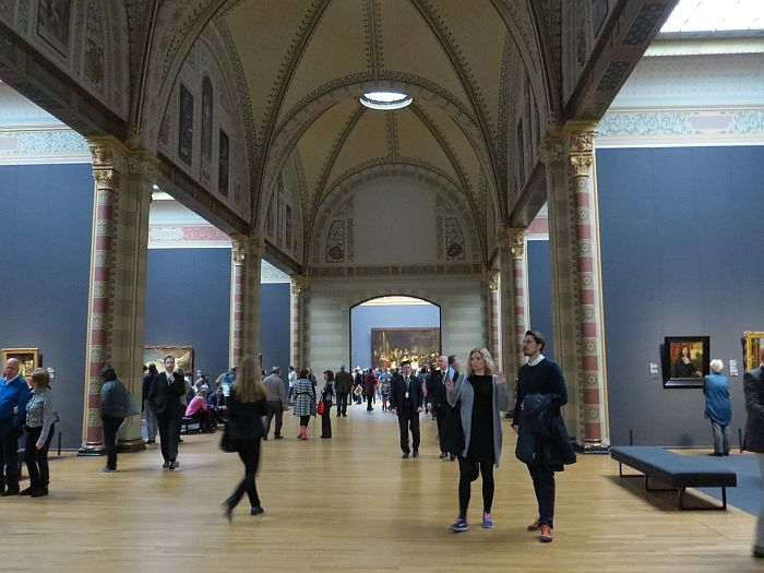 Inside the Rijksmuseum