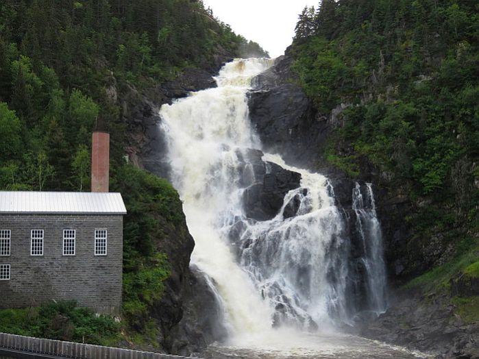 Waterfall at Val-Jalbert