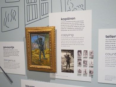 Inside the Van Gogh Museum