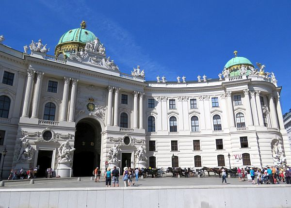 Imperial Palace in Vienna