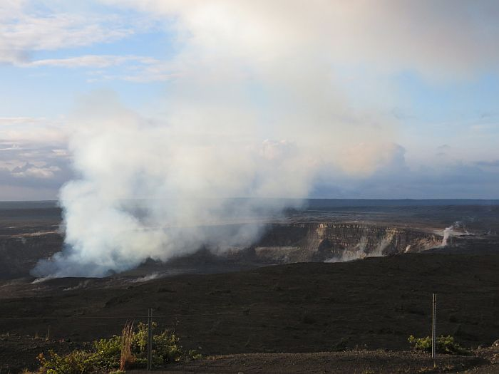 Daytime Hawaii Volcanoes National Park