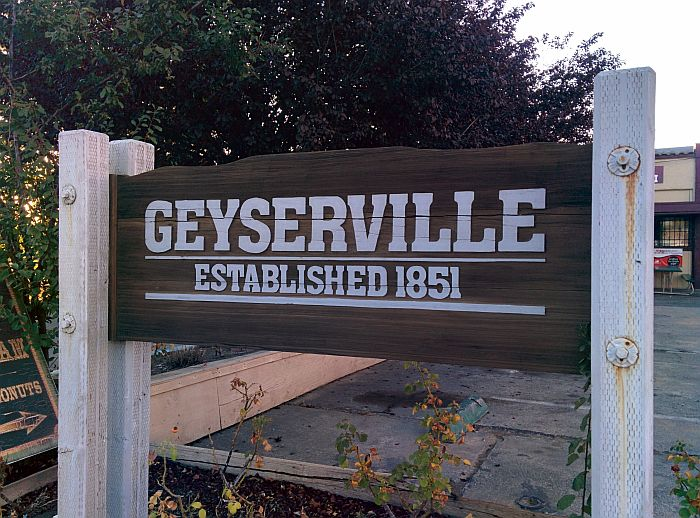 Geyserville sign