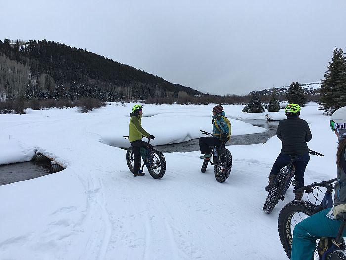 Fat Tire Snow Bking