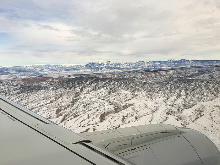 Flying to Telluride 5