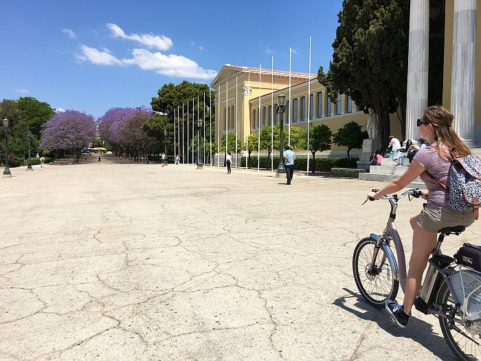 Pedal through Athens, Greece