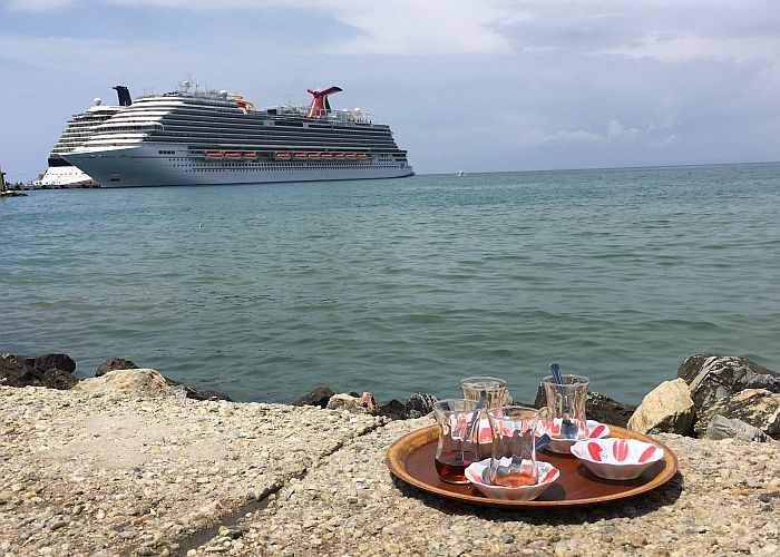 Carnival Vista in Turkish port of Kusadasi