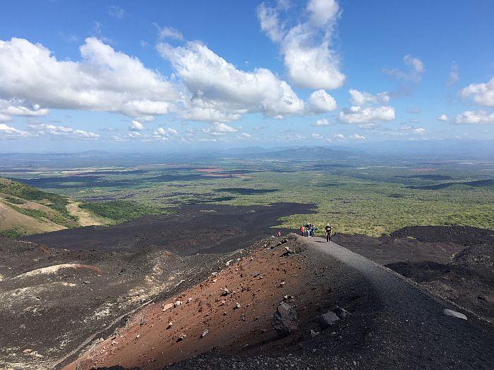 Atop Cerro Negro, Nicaragua