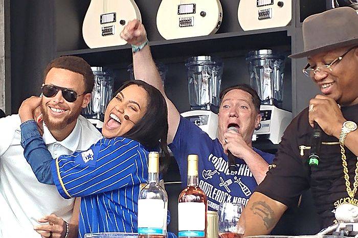 Williams Sonoma Culinary Stage with Steph Curry, Ayesha Curry, Liam Mayclem, & E-40