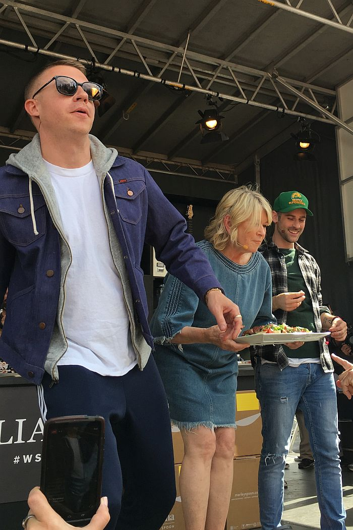 Martha Stewart, Macklemore & Ryan Lewis, BottleRock Napa Valley