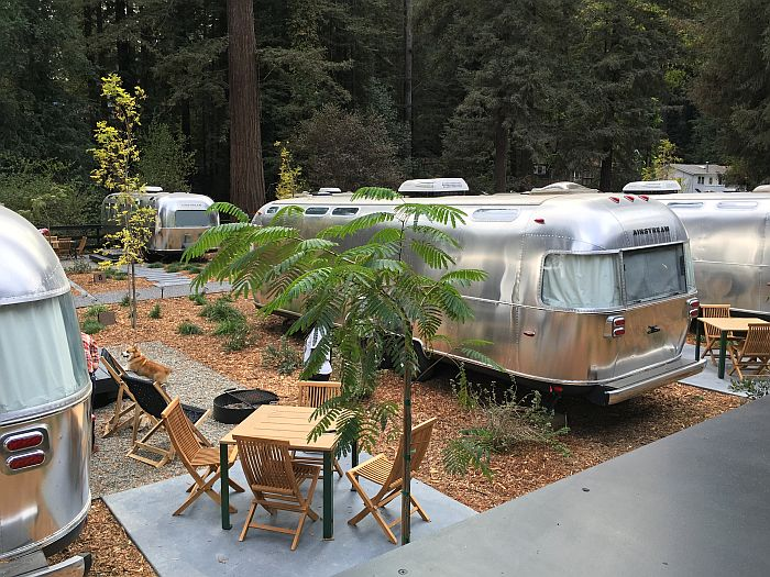 glamping at AutoCamp Russian River