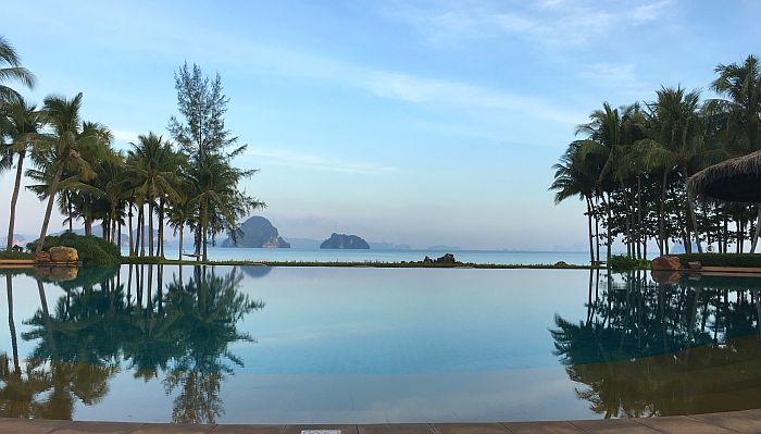 Pool with a view at Phulay Bay, a Ritz-Carlton Reserve
