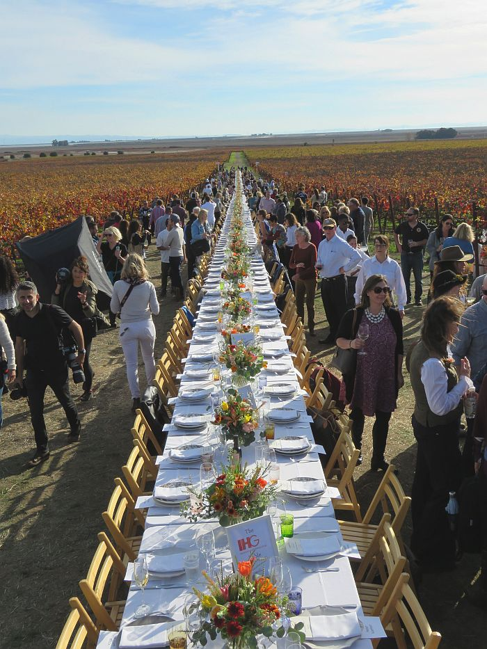The Grateful Table wine country benefit