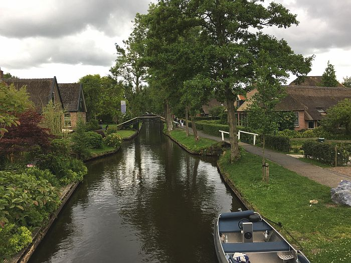 the canals of Giethoorn