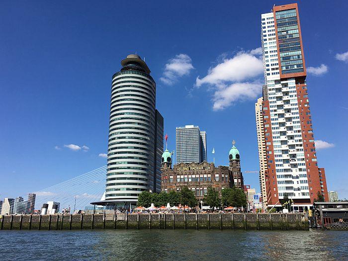 highrises of Rotterdam, The Netherlands