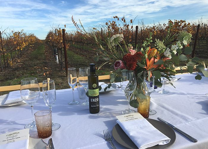 The Grateful Table benefit for wine country fire victims