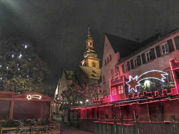Closing time at Rudesheim Christmas Market