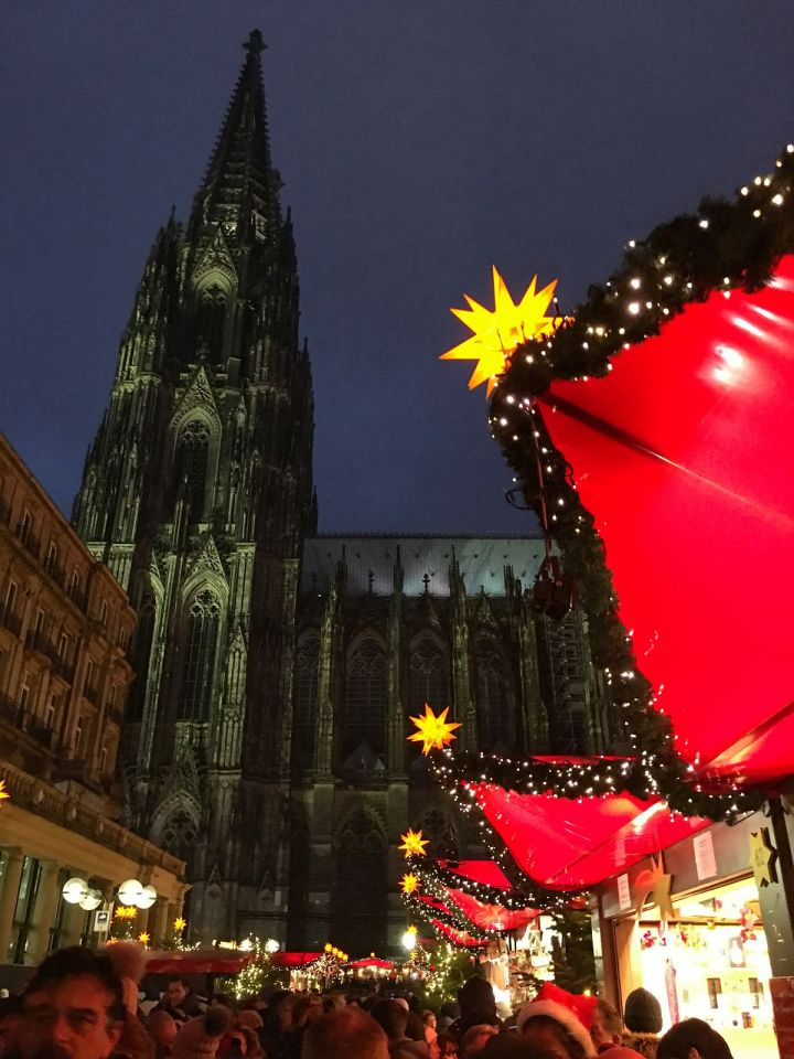Cologne Germany Cathedral Christmas Market