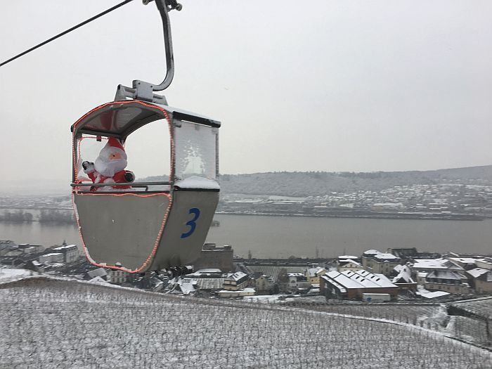 Rudesheim cable car ride