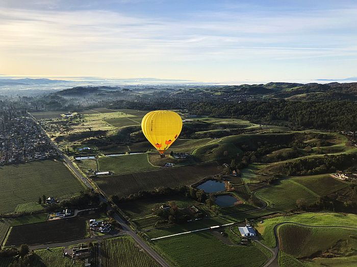 Wine Country Hot Air Balloon Ride