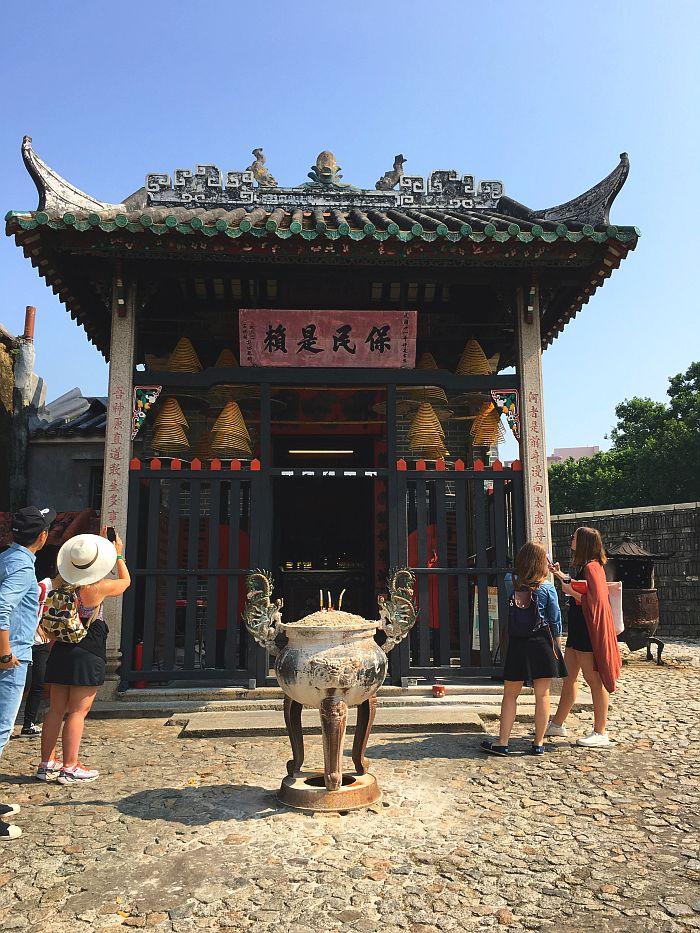 Na Tcha Temple, Macao