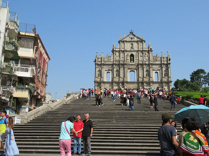Ruins of St Paul's, Macao