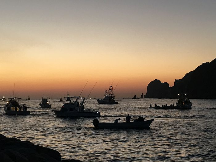 Cabo San Lucas at sunrise