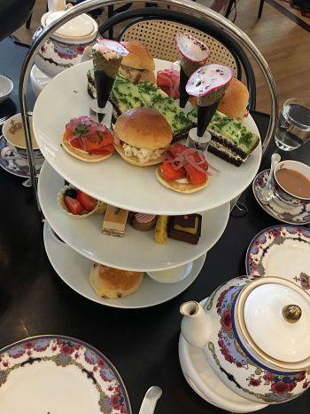 High tea at the Fairmont Empress Victoria