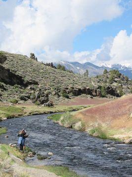 Fly Fishing at Hot Creek