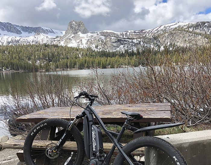 Biking Mammoth Lakes
