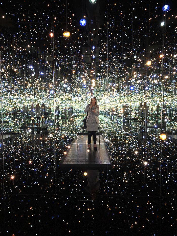 Broad Museum, Infinity Mirror Room, DTLA