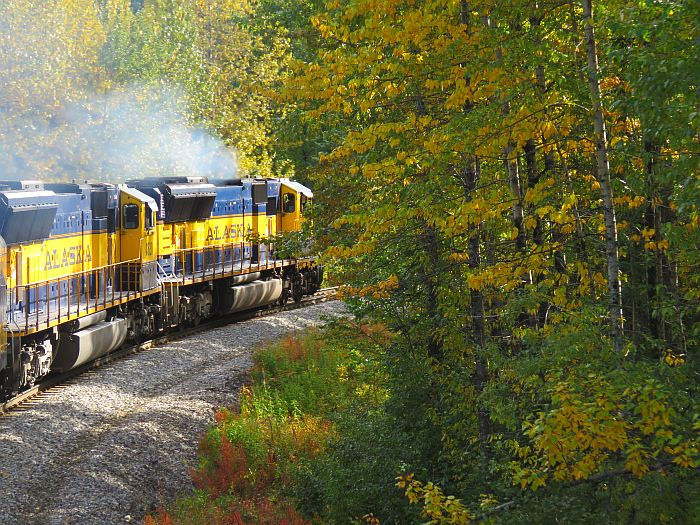 Alaska Railroad headed for Talkeetna