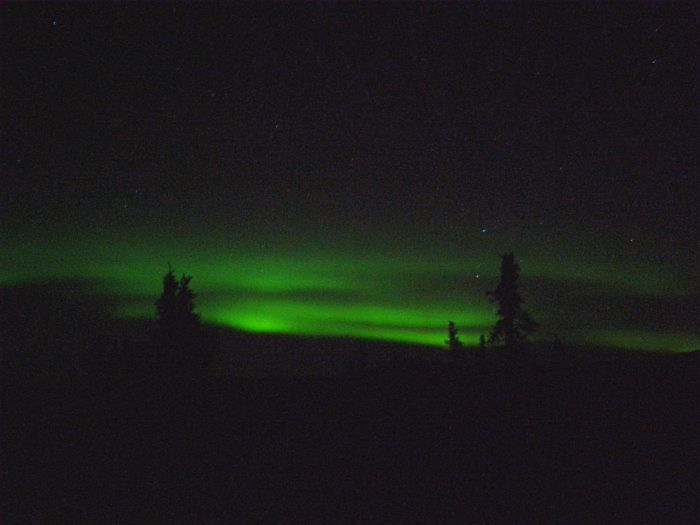 Chena Hot Springs, Northern Lights viewing