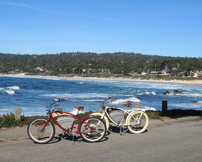 Electric bikes in Carmel-by-the-Sea