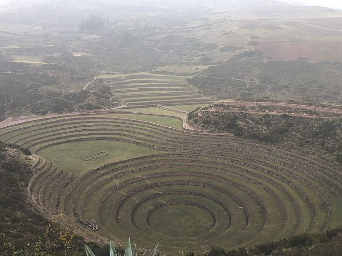 circles of Moray, Peru