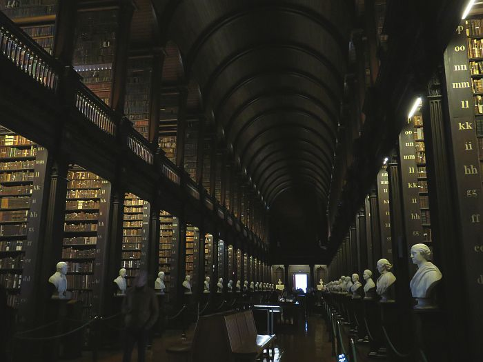 Book of Kells and Long Room, Trinity College