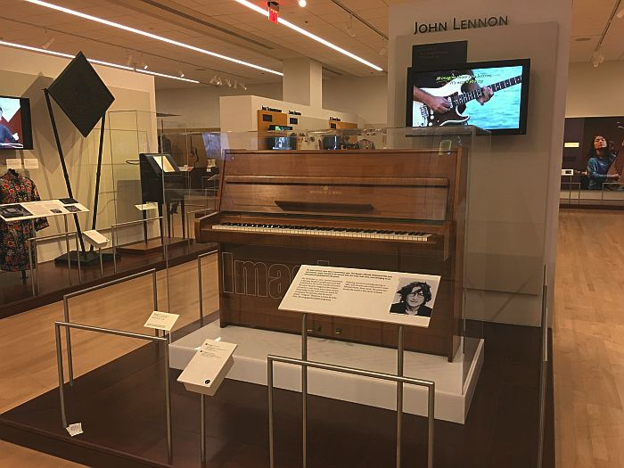 John Lennon piano at Musical Instrument Museum, (MIM), Scottsdale