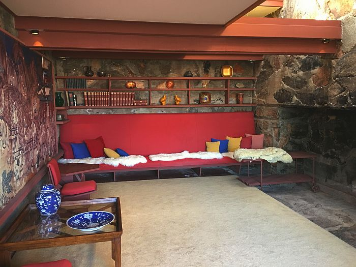 inside Taliesin West, Scottsdale, Arizona