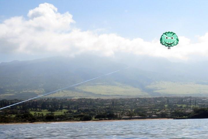 kaanapali-beach-parasailing