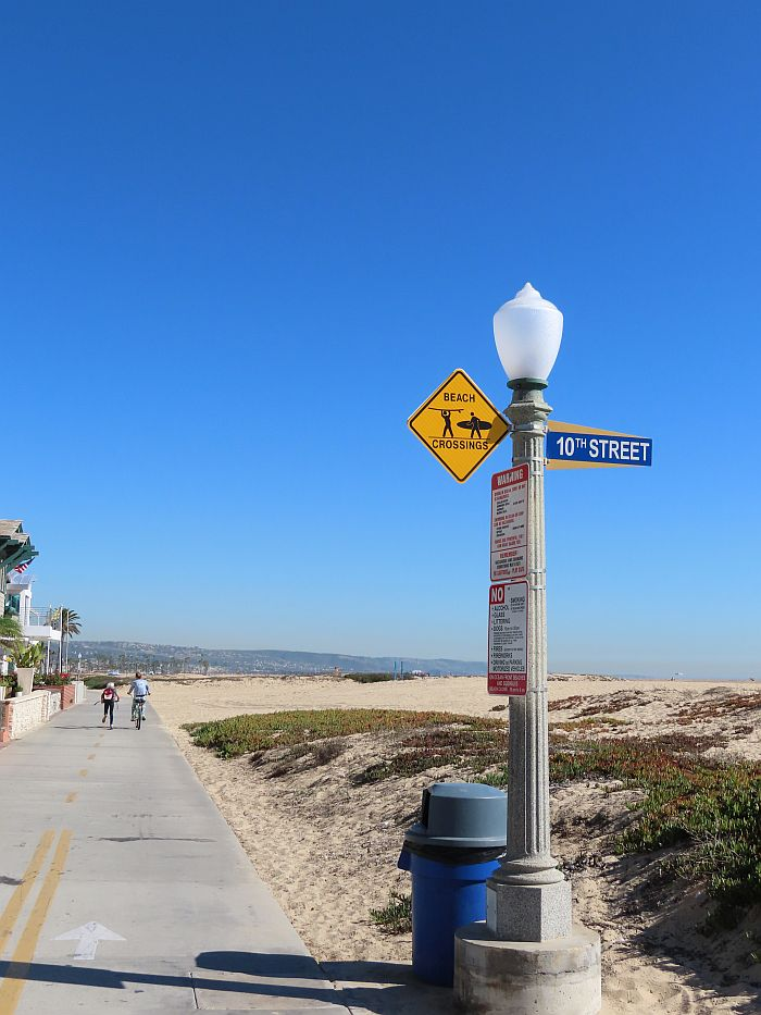 Newport Balboa Bike trail